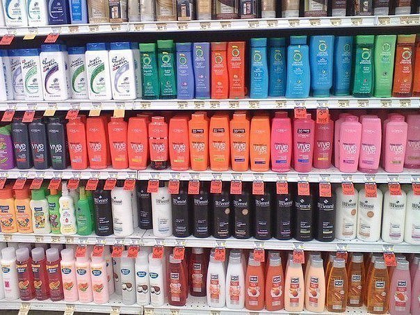 Самые вредные компоненты шампуня