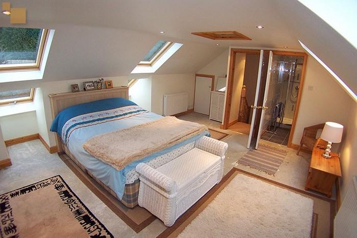 Окна для спальни в мансарде фото