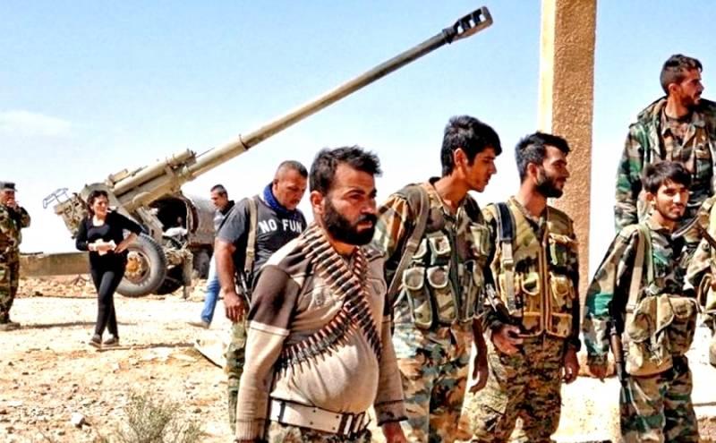 Военная обстановка в Сирии: Проамериканские боевики сдаются армии САР