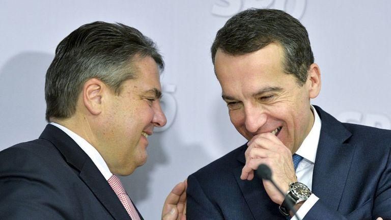 Германия и Австрия раскритик…