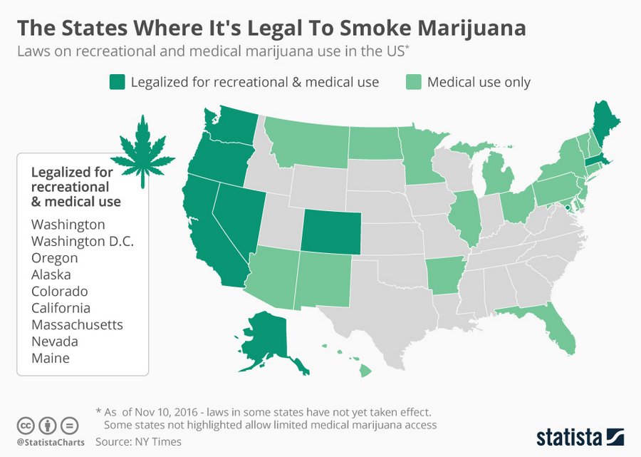 В каких городах разрешено курить марихуану конопля в норвегии