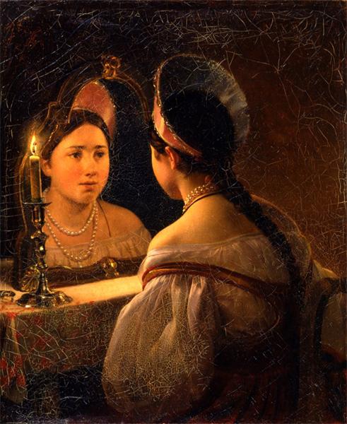 Осторожно: зеркала...святочные гадания / что нельзя делать с зеркалами