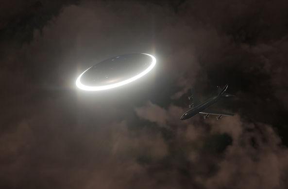 Пилоты засекли НЛО в небе над Ирландией