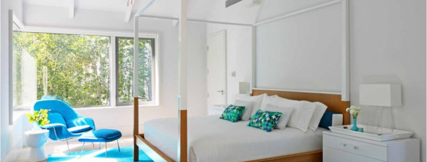 Спальня в двух цветах: оптимальные сочетания