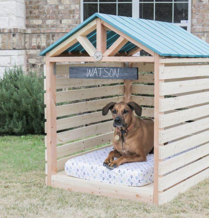 Отличный домик для питомца. /Фото: i.pinimg.com