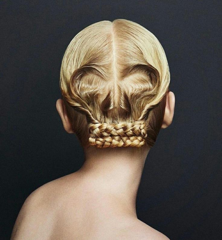 Причёска череп