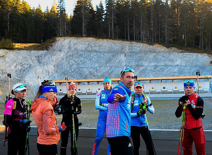 В нашем биатлоне много новичков: татухи, идеальный пресс и мечты об олимпийском золоте
