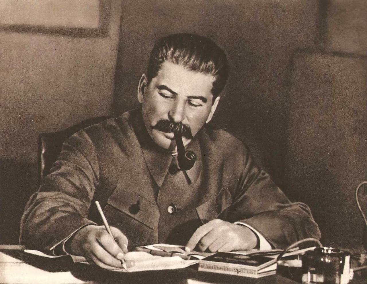 Сталин и Лавра.