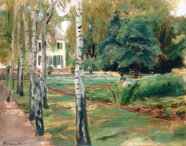 + The birch trees in the garden at Wannsee (653x512, 372Kb)