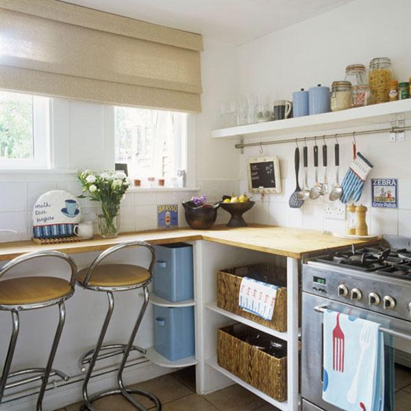 Оформление небольшой кухни в хрущевке