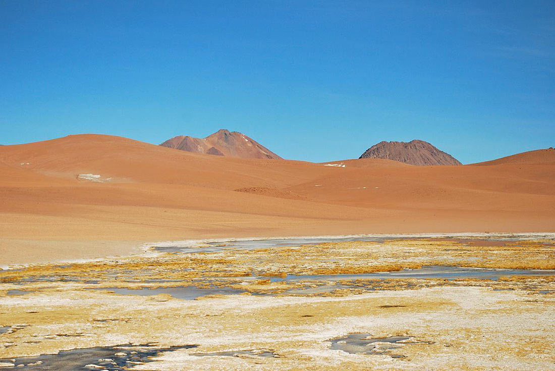 Пустыня атакама в картинках