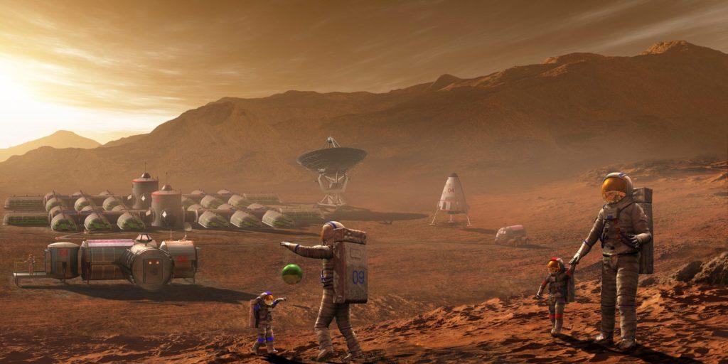 База на Марсе / ©Mars One
