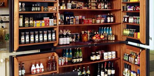 Удобное хранение продуктов на кухне
