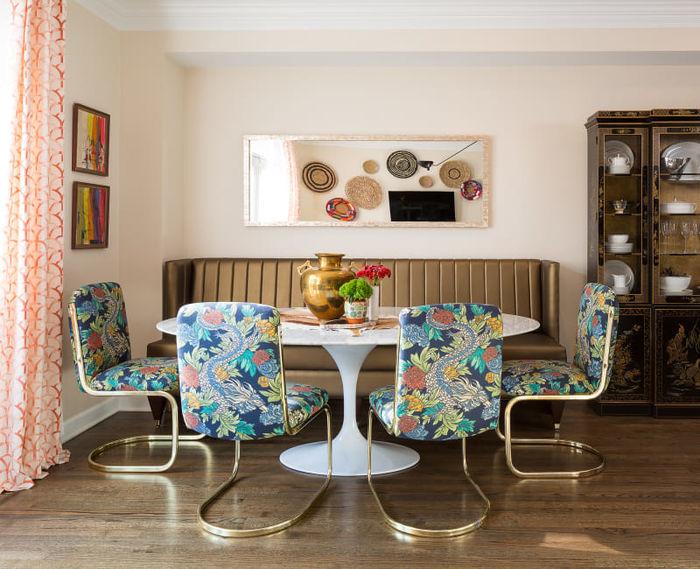 6 уроков смелого дизайна из экстравагантного дома в Чикаго идеи для дома