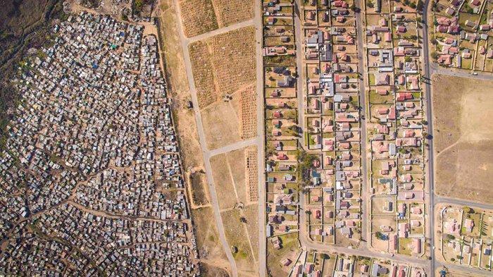 Аэрофотография: между богатством и бедностью
