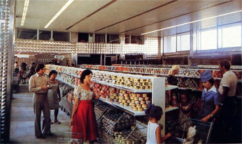 Товары в магазинах. СССР, история, факты