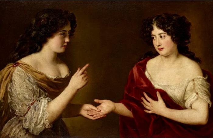 Гортензия и Мария Манчини