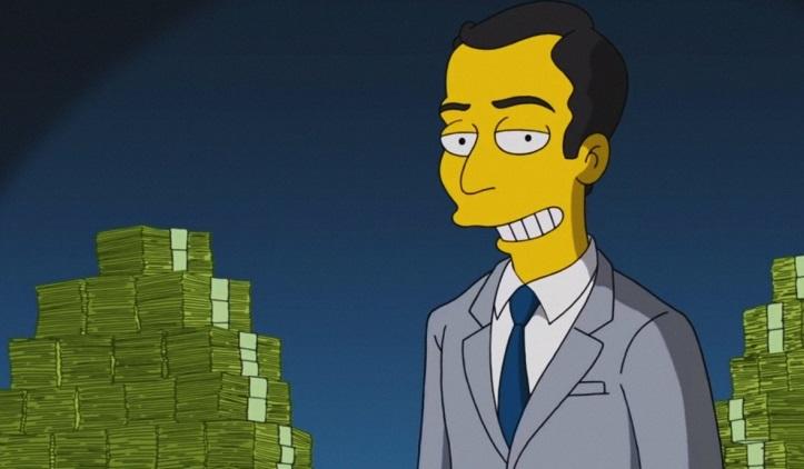 В«Симпсонах» показали, как работает блокчейн икриптовалюты блокчейн,Симпсоны,технологии
