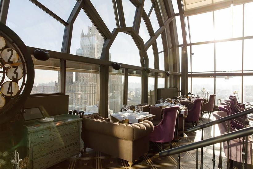 Рестораны Москвы с лучшими интерьерами и дизайном