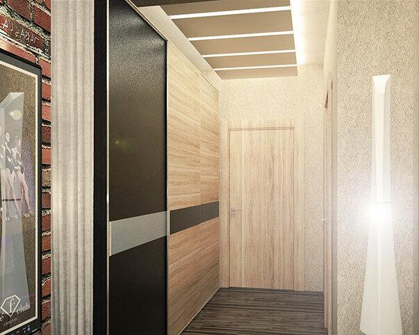 Однушка-студия в современном стиле идеи для дома,интерьер и дизайн