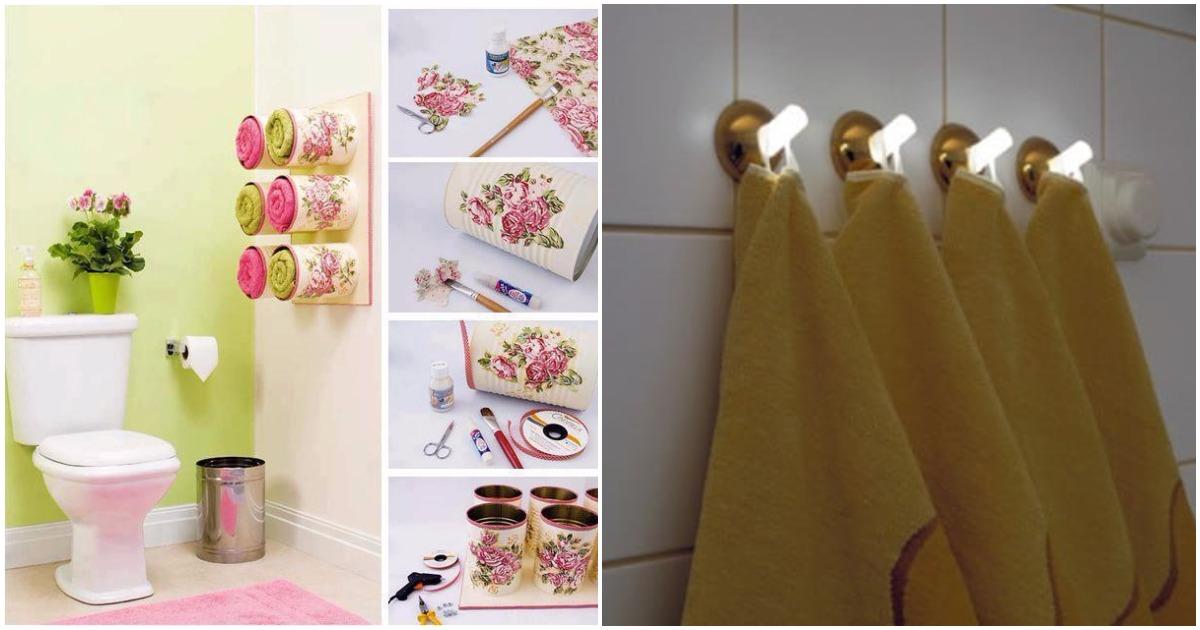 Креативный декор ванной и кухни: 13 держателей полотенец, которые затмевают их по красоте