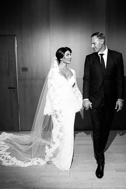 Анна Седокова и Янис Тимма поженились Звездные пары