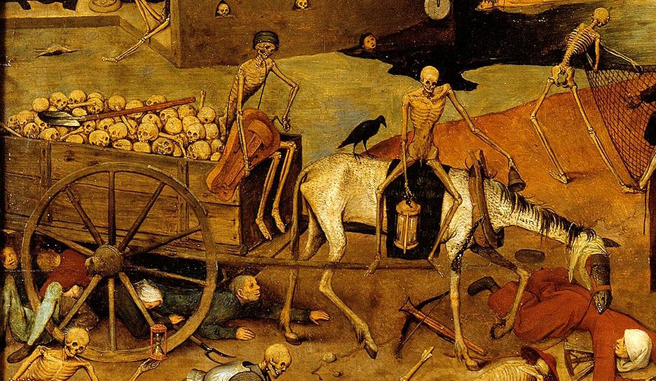 Репетиция апокалипсиса 670 лет назад ( не для впечатлительных )