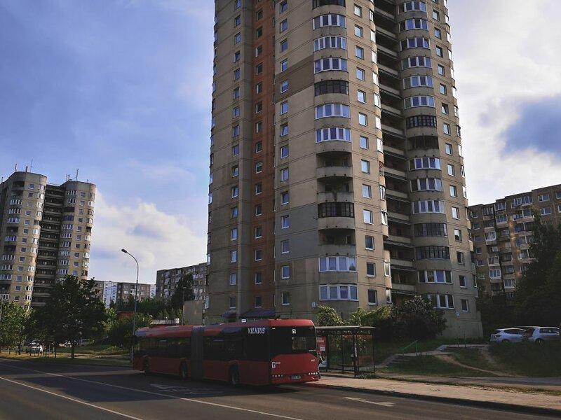 Район примечателен лишь многоэтажками в стиле брутализм   Чернобыль, кино, литва, место, сериал, съемка, фото
