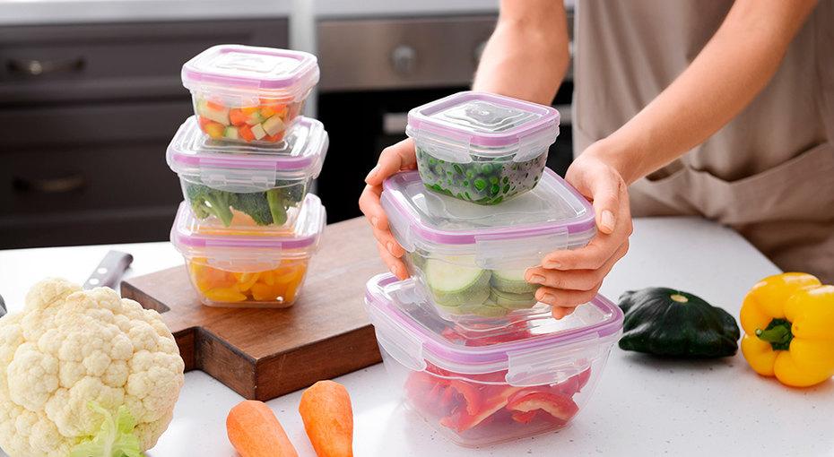 Контейнеры из пластика: как выбирать, хранить и правильно ухаживать