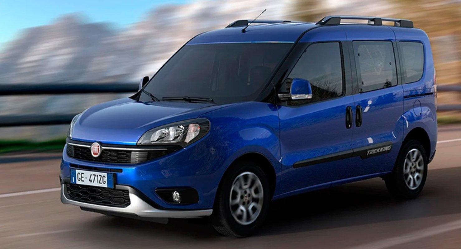 FIAT обновил линейку коммерческих фургонов FIAT Doblo Автомобили
