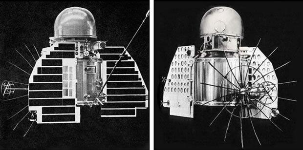 Модель космического зонда «Венера-1»