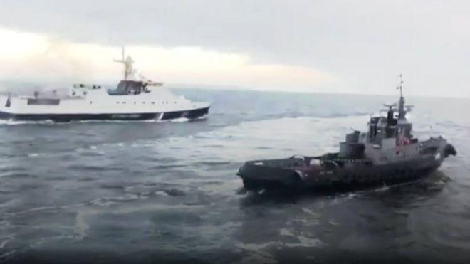 Верните корабли Украине, не …