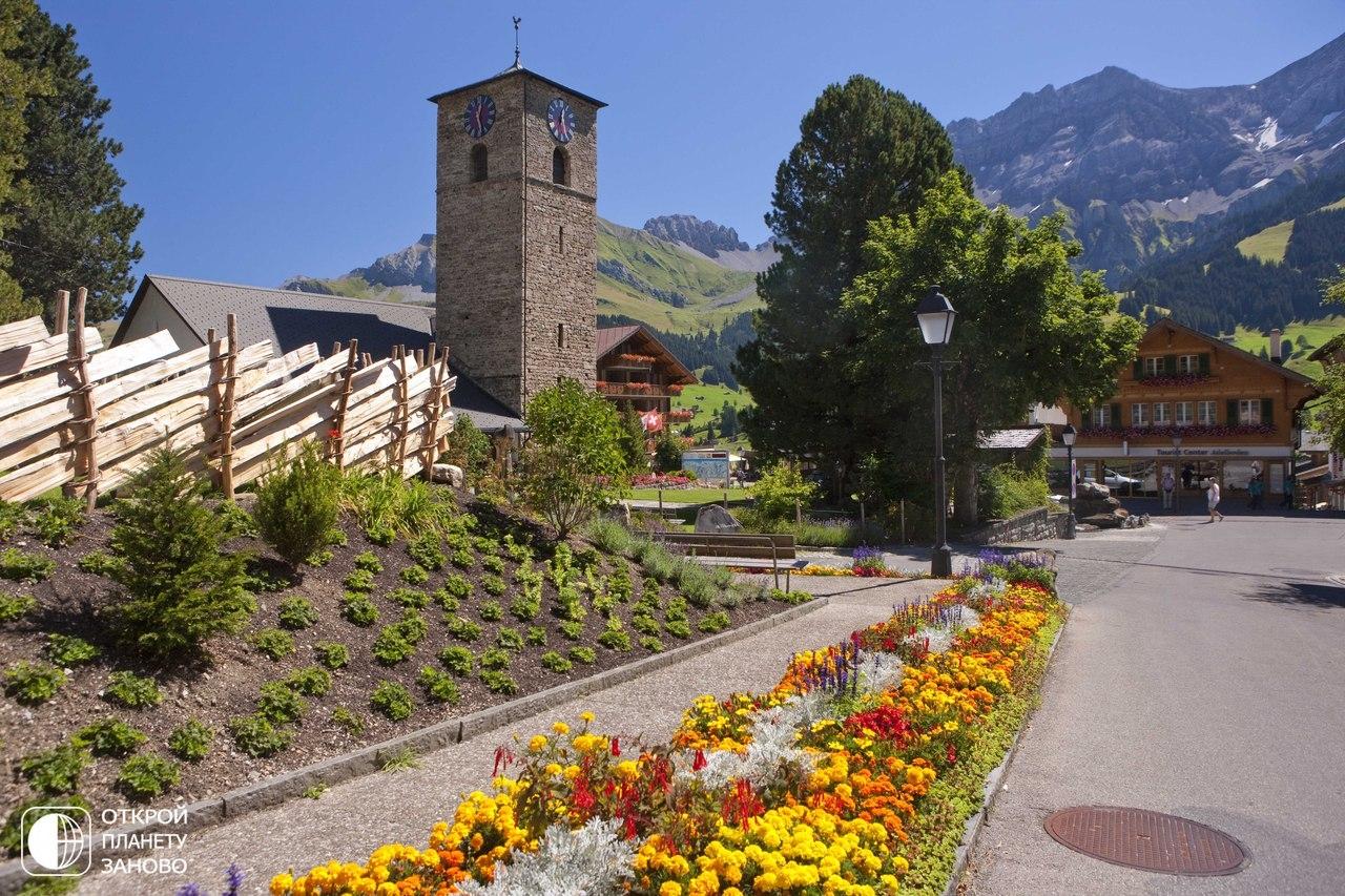 Адельбоден - красоты Швейцарии