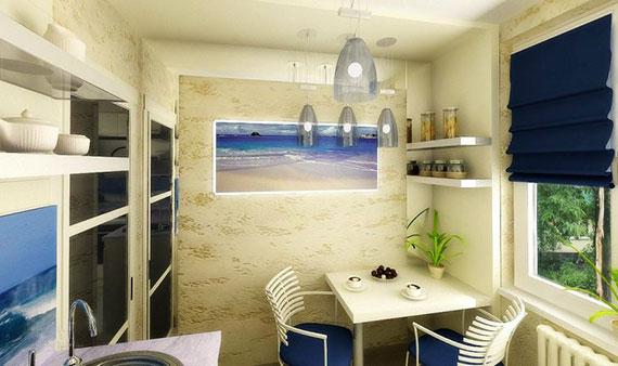 Дизайн маленькой кухни в хрущевке 5 кв.м