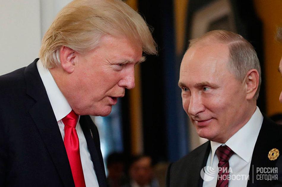 О встрече Путина с Трампом