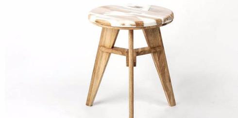 Необычная мебель из гибридной древесины