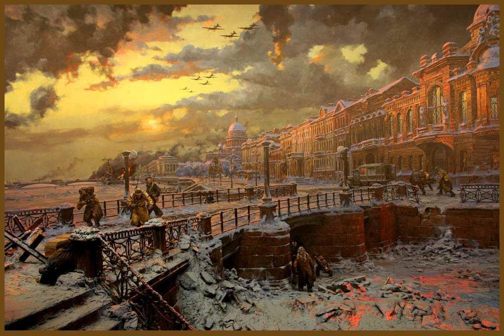 Ленинградские картинки, процветания