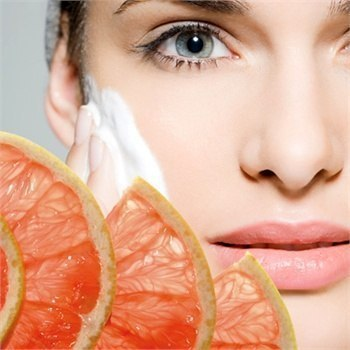 Чистка лица. Домашняя маска с йогуртом и апельсином