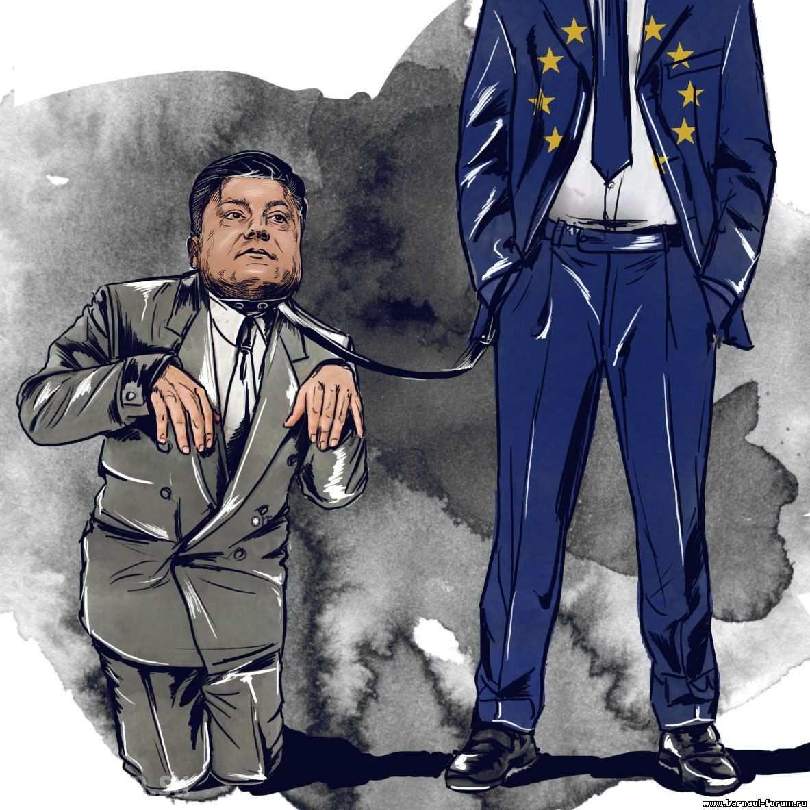 """""""Западные друзья"""" Киева ставят Порошенко на колени"""