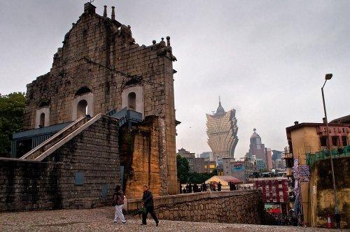 Восхитительные руины церкви Святого Павла в Макао