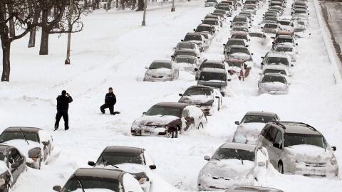 Михаил Исаев об уборке снега…