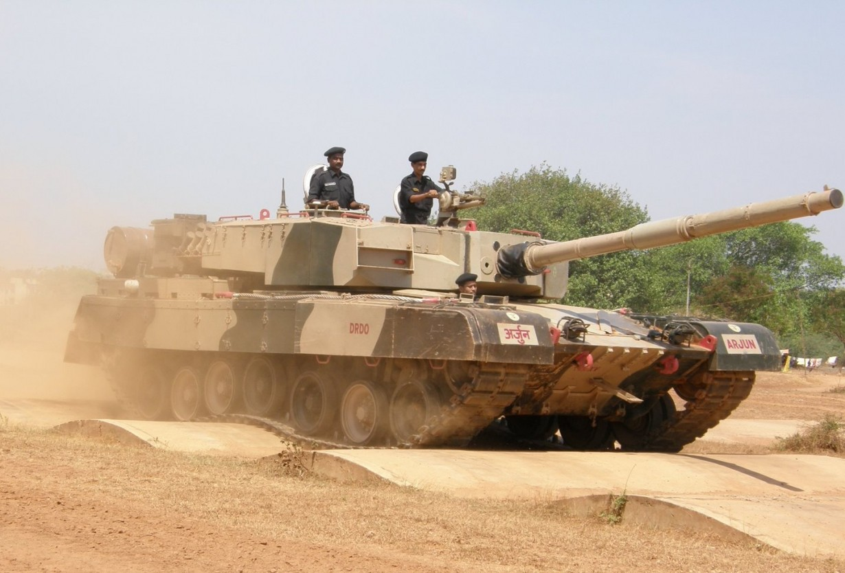 Арджун Mk.I, Индия (Ajai Shukla)