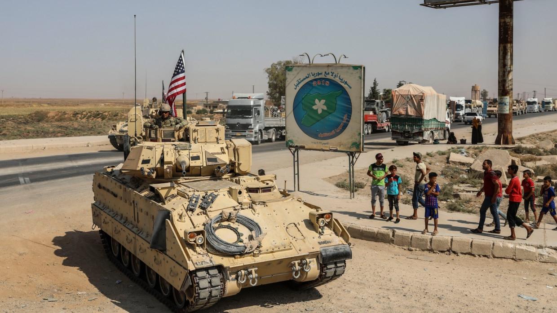 Reuters сообщил об обстреле американских военных на востоке Сирии Армия