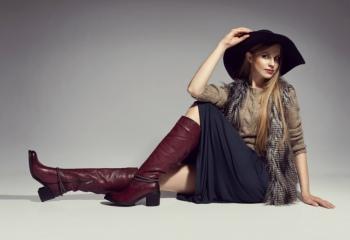 Сапоги и юбки: 7 стильных сочетаний