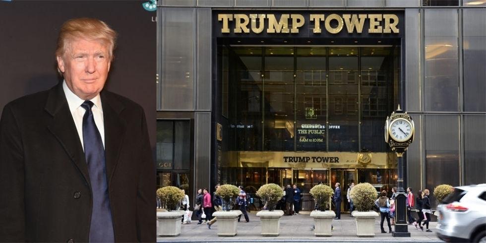 Самые роскошные дома Дональда Трампа