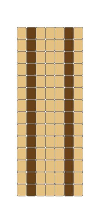 Как плести жгут из бисера. Схемы плетения и пошаговый мастер-класс (18) (323x700, 87Kb)