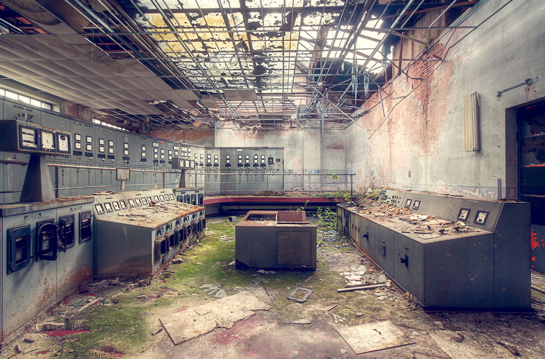 Таинственная красота заброшенных зданий