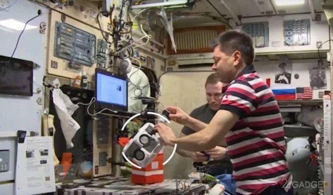 3D говядина напечатана в космосе