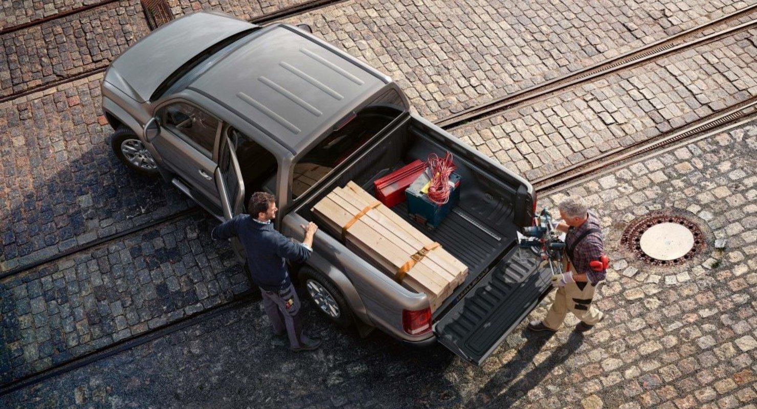 VW Amarok нового поколения превратили в полноценный внедорожник Автомобили