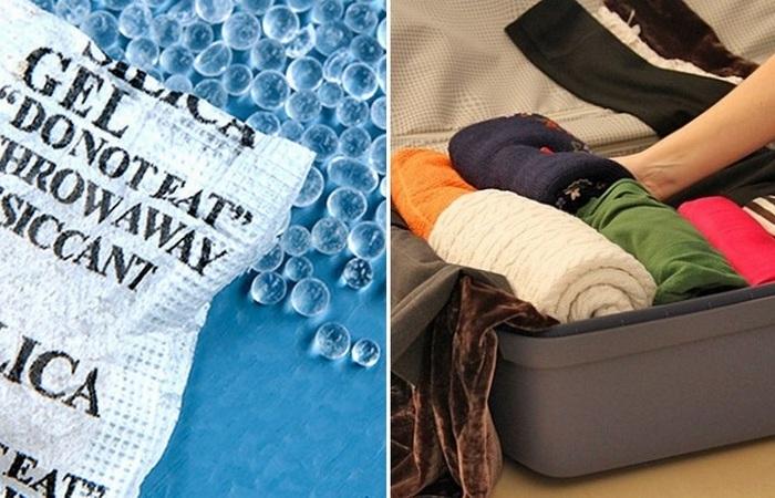 Применение в хозяйстве пакетиков с шариками из обувных коробок